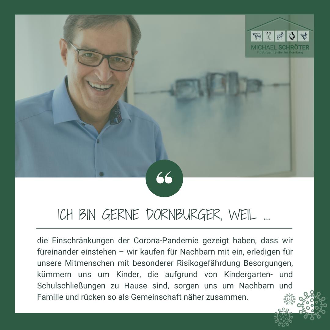 Read more about the article Ich bin gerne Dornburger, weil ….