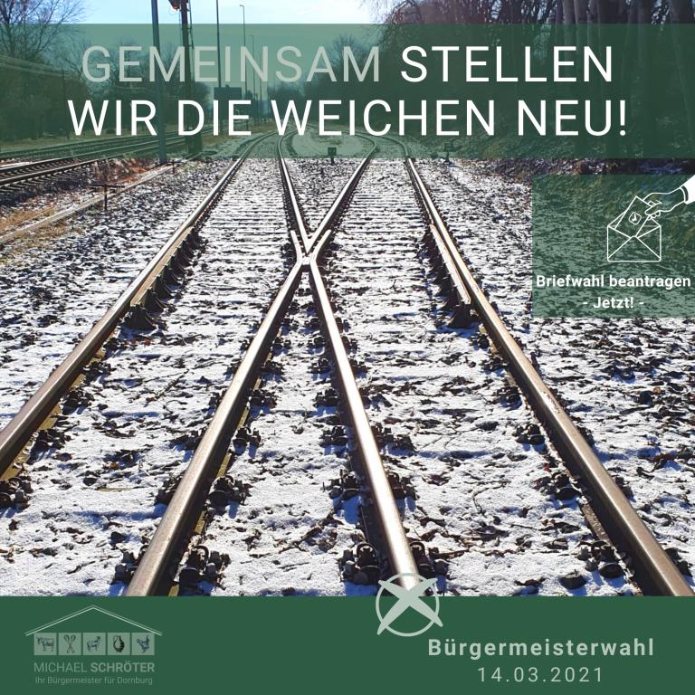 Read more about the article Gemeinsam stellen wir die Weichen neu!