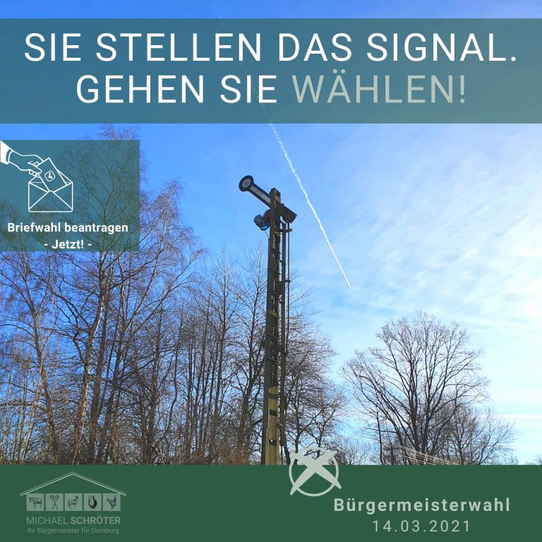 Stellen Sie das Signal!
