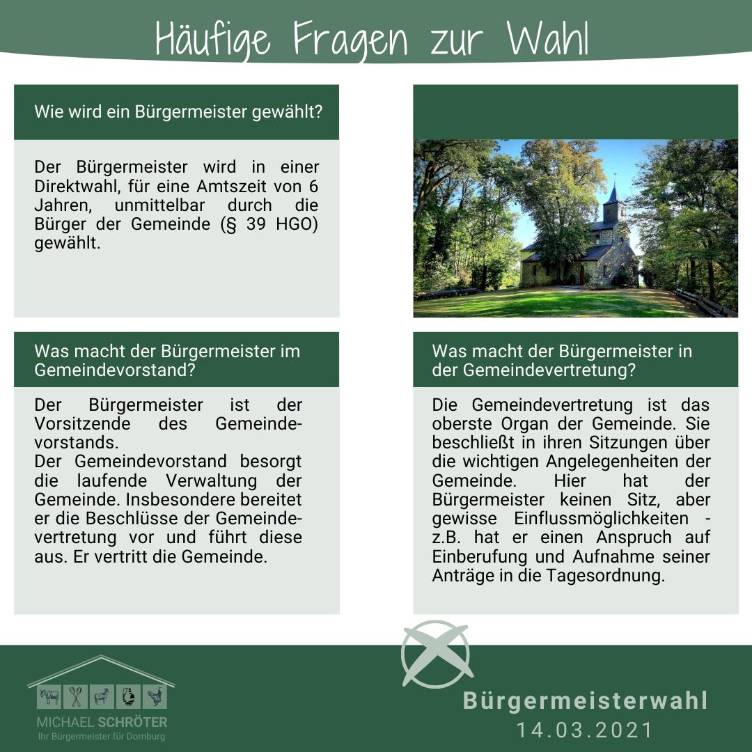 Read more about the article Häufige Fragen zur Wahl