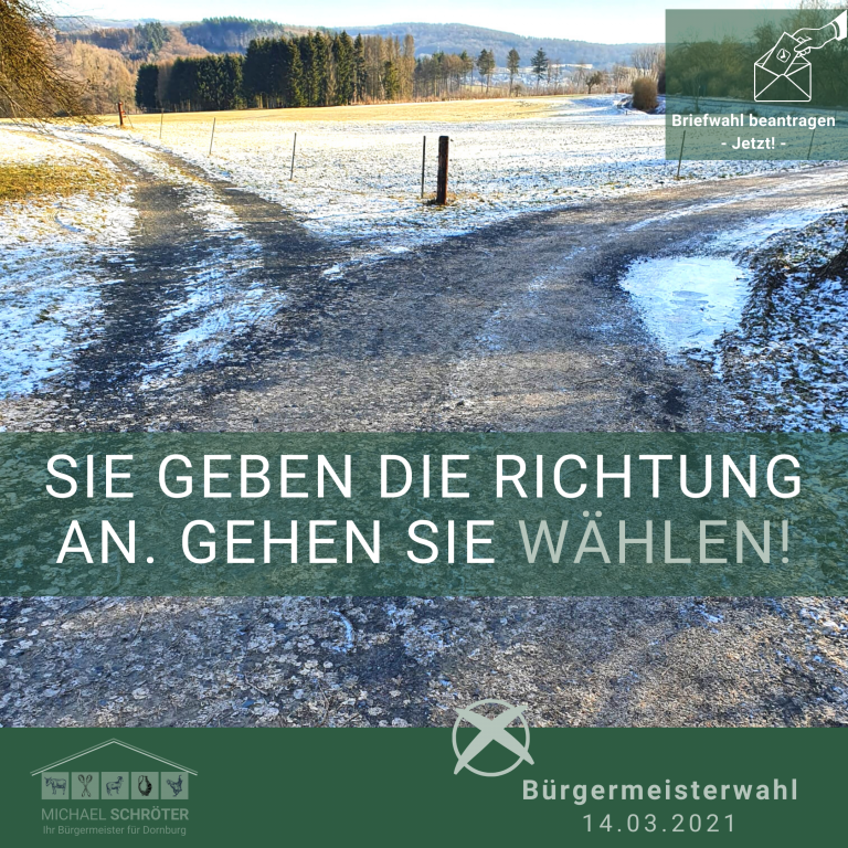 Read more about the article Sie geben die Richtung an!