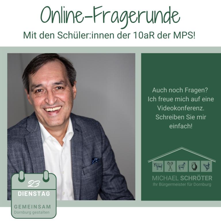 Online-Fragerunde der MPS